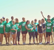 Arthritis Foundation walk to Irish Fest 2014.